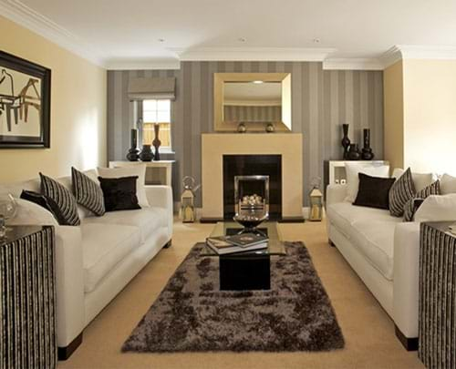 Interior Design Living Room With Classy Look And Feel