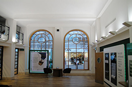 Lloyds bank reception after it's re-decoration